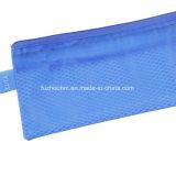 Plastik-PP/PVC Nettobriefpapier-Beutel mit buntem Reißverschluss