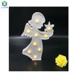 A Modelagem de ângulo de luz LED de luz nocturna para decoração