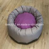 Rundes Hundebett-Haustier-Produkt-kleine Welpen-Bettwäsche, die Haustier-Hundebetten anfüllt