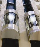 Vidrio de estándar europeo elevador de coche (EN81, EN115)