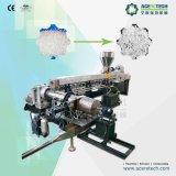 La extrusora de plástico de dos etapas para el cable de conexión cruzada de productos químicos de peletización Material