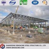 Edificio de marco de acero largo del palmo con diseño profesional