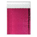 Luftblasen-Werbungs-Beutel-Plastikluftblasen-Umschlag der Fabrik-10*13ins kundenspezifischer rosafarbener