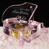gunsten Decoration&Gift van het Huwelijk van de Dag van 3D het Snijden van Insiding van het Kristal van de Laser Valentijnskaart van de Kubus de Huidige