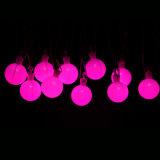 كرة أرضيّة 50 [لد] كرة خيط أضواء لأنّ بينيّة حديقة فناء [لون برتي] زخارف