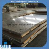 Placas de aço inoxidáveis laminadas a alta temperatura da espessura 6mm de 316L no. 1