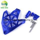 CNC die de ZijDekking van het Aluminium voor de Motoronderdelen van de Motorfiets machinaal bewerken