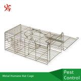 إنسانيّة مصيدة معدنة مزلاج حيّة [سقويرّلس] حيوان صغيرة فيران فأرة قفص