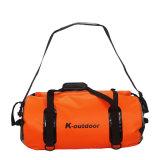 Sac imperméable à l'eau de course de sac à dos de la bâche de protection 50L 60L de PVC de mode