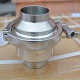 Aço inoxidável do tipo de Fechamento da Válvula de Retenção de qualidade alimentar (JO-VLR2003)