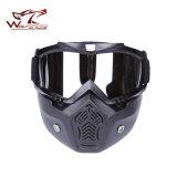 Маска стекел воинского способа маски изумлённых взглядов Motocross напольных спортов звероловства защитная
