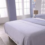 Новая самомоднейшая неподдельная деревянная кожаный кровать для гостиницы G7011