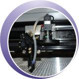 máquina de grabado de cuero del corte del laser del CO2 100W