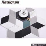 Tegels van het Porselein van het Ontwerp van het Effect van de binnenhuisarchitectuur 3D Visuele Hexagon