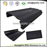 Profiel van de Uitdrijving van Aluminium 6063 van de fabriek het Zwarte T6 Geanodiseerde met ISO 9001