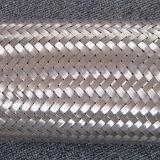 Draht-umsponnener Edelstahl-flexibler Schlauch