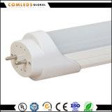 tubo de cristal del 1.5m T8 23W PF>0.9 LED para la oficina