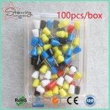 多彩で小さいプラスチック円錐形形の本社Pin