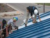 Colorir telhadura corrugada Corrossion do metal do preço de fábrica da chapa de aço a anti