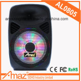 Bluetooth 8 인치 /FM /USB/SD/Remote를 가진 플라스틱 휴대용 트롤리 스피커