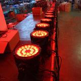 옥외 RGBW 24X12W LED 방수 동위 빛