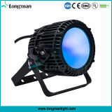 100W RGBW DMX LED luzes de Fase do Holofote Externo