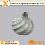 Vaso di fiore di ceramica grigio dei vasi del centro di cerimonia nuziale