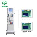 高品質医学の移動式二重ポンプ腎臓の透析機のHemodialysis機械価格の病院装置
