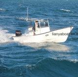 Barco do Panga de Liya 7.6m para pescar o barco de pesca da fibra de vidro de China