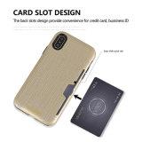 Art-eindeutiger Entwurfs-Drahtziehen-Karten-Kasten für iPhone 7 Plusdeckel