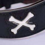 Collare di cane luminoso del cuoio della collana di sicurezza di notte di alta qualità