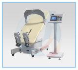 Vector eléctrico de la inclinación de la terapia con la base del pie