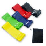 Os PCS 5 Bandas de loop de resistência de exercícios de Yoga Terapia Stretch Borracha Fitness