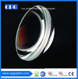 N3mm de diámetro-Bk7 Hemi desnuda la lente óptica esférica