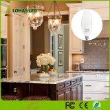 Lohas E12 LED 2700K calienta el bulbo equivalente de la vela del vatio 8W Not-Dimmable del blanco 75 para la iluminación casera