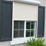 Obturateur de rouleau pour l'intérieur et le guichet en aluminium électrique et la porte d'utilisation extérieure