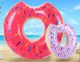 도넛 디자인 팽창식 PVC 수영 반지