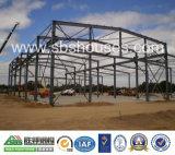 Vorfabriziertes Stahlkonstruktion-Aufbau-Gebäude