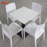 Современные круглые белые твердой поверхности стола с ужином (T1711201)