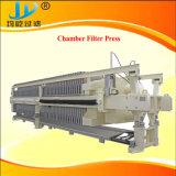 Filtre-presse hydraulique à haute pression de chambre de pp avec le système de lavage