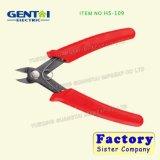 Alicates finos elétricos do cortador da lâmina do aço inoxidável do cortador Sideling