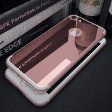 iPhone 7을%s 호화스러운 미러 TPU 높이 명확한 연약한 상자