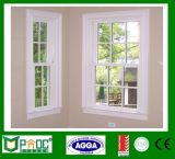 Окно новой конструкции Pnoc081024ls одиночное повиснутое с типом Европ