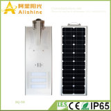 50W monokristallines Silikon LED alle in einer Solarstraßenlaterne-im Freienbeleuchtung