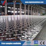 De mariene 5083/5086 H116 Geruite Plaat van het Aluminium voor de Raad van het Dek