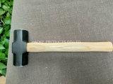 Herramientas durables y buenas del martillo de trineo de acero (XL-0121) del precio de la mano de la construcción