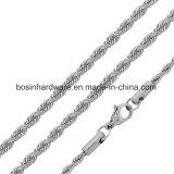 Cuerda de torsión de acero inoxidable COLLAR DE CADENA