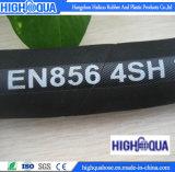 Boyau en acier très à haute pression de pétrole de tresse d'En856 4sp
