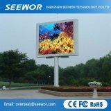 Alta visualizzazione di LED fissa esterna di luminosità P5mm con il Governo di 960*960mm