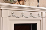 Bordure à la maison de cheminée de sculpture en meubles pour la décoration
